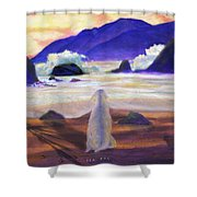 Sea Dog Shower Curtain