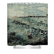 Seascape 459090 Shower Curtain