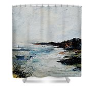 Seascape 68 Shower Curtain