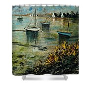 Seascape 78 Shower Curtain