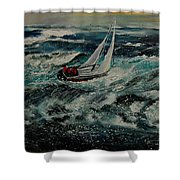 Seascape 97 Shower Curtain
