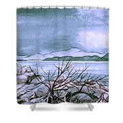 Seascape Shower Curtain