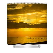 Seascape Gulf Coast, Ms G10i Shower Curtain