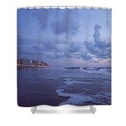 Seascape Lights Shower Curtain