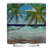 Seascape Series No.1 Shower Curtain