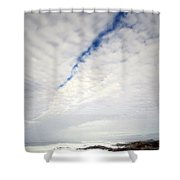 Seascape Skyscape Two Shower Curtain