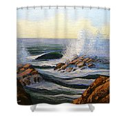 Seascape Study 1 Shower Curtain