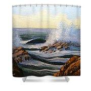 Seascape Study 1 Shower Curtain