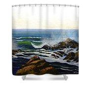 Seascape Study 5 Shower Curtain