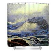 Seascape Study 8 Shower Curtain