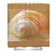 Seashell Sandy Fantasy Shower Curtain