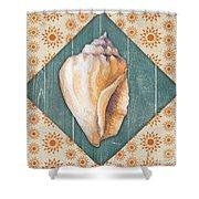 Seashells-jp3620 Shower Curtain