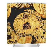 Seaside Attachment Shower Curtain