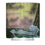 Seaside Cliffs Shower Curtain