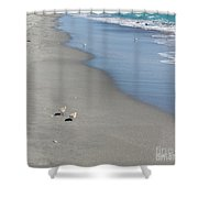 Seaside Holiday Shower Curtain