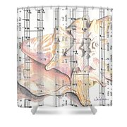 Seaside  Shower Curtain by Kathy Weidner