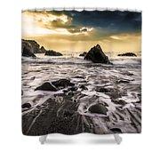 Seaside L/r Shower Curtain