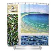 Seaside Memories Shower Curtain
