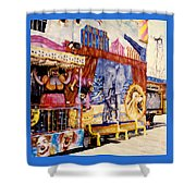 Seaside New Jersey Shower Curtain