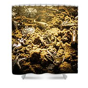 Seaside Of Creative Charms Shower Curtain