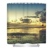 Seaside Palette Shower Curtain