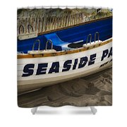 Seaside Park New Jersey Shower Curtain