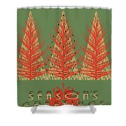 Season' Greetings 1 Shower Curtain