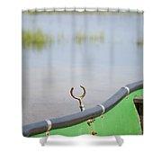 Seasonal Lake In Slovenia Shower Curtain