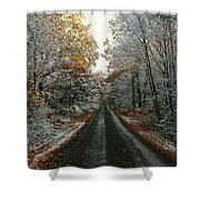 Seasonal Mix Shower Curtain