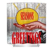 Seasons Greetings 31 Shower Curtain