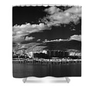 Seasons In Infrared Shower Curtain