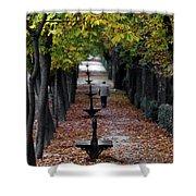 Seasons - Pathway Shower Curtain