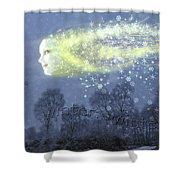 Seasons Winter Shower Curtain