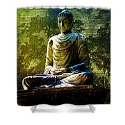 Seated Buddha Shower Curtain