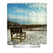 Seating Available Shower Curtain
