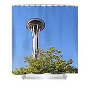 Seattle Architecture Shower Curtain