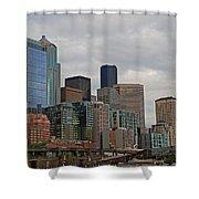 Seattle  Shower Curtain