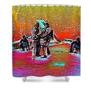 Seattle Fire Fighter Memorial Shower Curtain