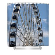 Seattle Great Wheel Shower Curtain