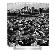 Seattle: Hooverville, 1933 Shower Curtain