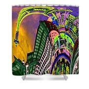 Seattle In Daliland Shower Curtain