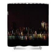 Seattle Nightlights Shower Curtain