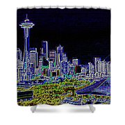 Seattle Quintessence Shower Curtain