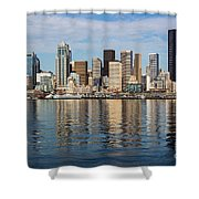 Seattle Reflection Shower Curtain