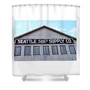 Seattle Ship Supply 2 Shower Curtain