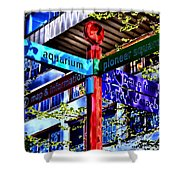 Seattle Sights Shower Curtain