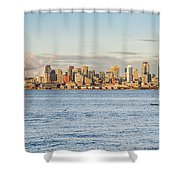 Seattle Skyline 2 Shower Curtain