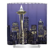 Seattle Space Needle 0200 Shower Curtain