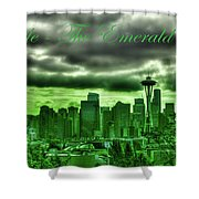 Seattle Washington - The Emerald City Shower Curtain