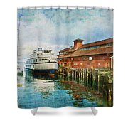 Seattle Waterfront Shower Curtain